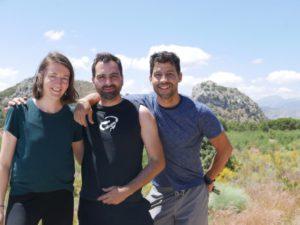 My first ever climbing trip - food-health - siesta, lead climbing, first time climbing, el chorro, climbing trip, climbing